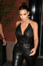 Kim Kardashian Heads to the Tonight Show with Jimmy Fallon in New York