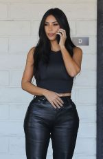 Kim Kardashian Out for lunch in Los Angeles