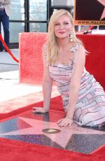 Kirsten Dunst At Honor With Star on The Hollywood Walk of Fame in Hollywood
