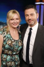 Kirsten Dunst At Jimmy Kimmel Live