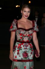 Kitty Spencer At Fashion For Relief, Spring Summer 2020, London Fashion Week, UK