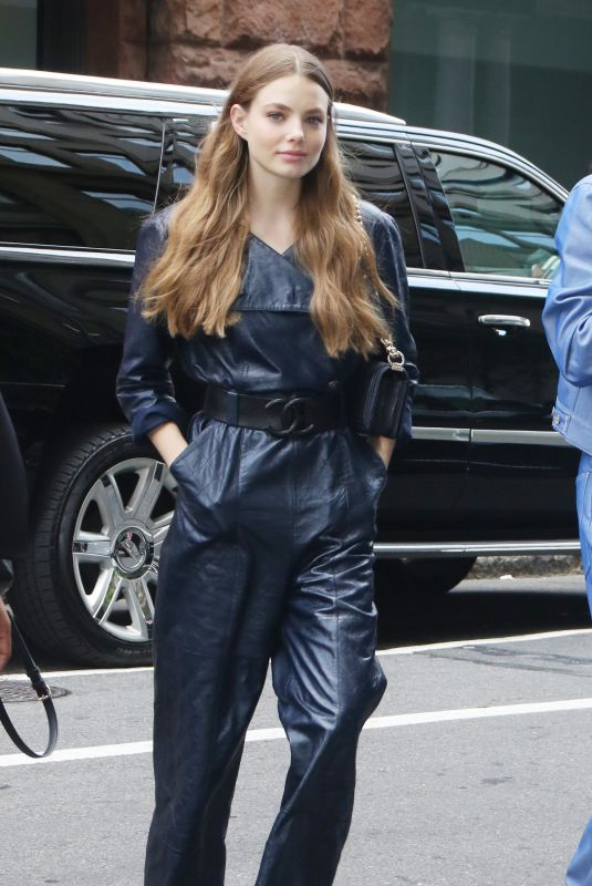 Kristine Froseth Outside Build Series in New York City