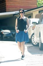 Krysten Ritter Spotted for the first time with her son in Los Angeles