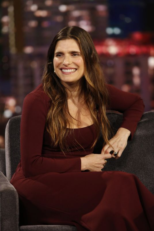 Lake Bell At Jimmy Kimmel Live! in Los Angeles