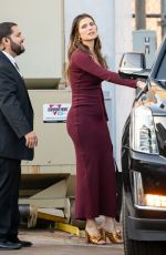 Lake Bell Stops by Jimmy Kimmel Live in Los Angeles