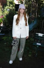 Larsen Thompson At Kate Spade Fashion Show in NYC