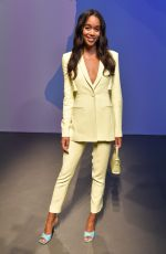 Laura Harrier At Boss Fashion Show in Milan