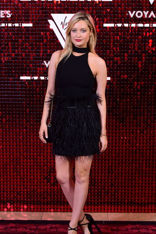 Laura Whitmore At Virgin Voyages capsule collection launch event, Royal Opera House, Spring Summer 2020, London Fashion Week