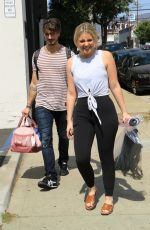 Lauren Alaina Heading to dance practice in LA