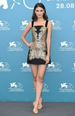 "Laysla De Oliveira Attends ""Guest of Honour"" photocall during the 76th Venice Film Festival"