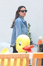 Lea Michele Out in Bel-Air