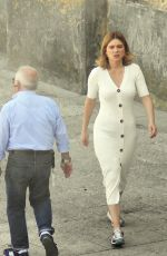 Lea Seydoux Pictured on the set of the new James Bond 007 film