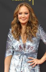 Leah Remini Arrives at the 2019 Creative Arts Emmy Awards - Day 1 held at the Microsoft Theater in Los Angeles
