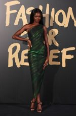 Leomie Anderson At Fashion for Relief in London