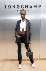 Leomie Anderson At Longchamp Fashion Show in NYC