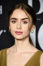 Lily Collins At Harper