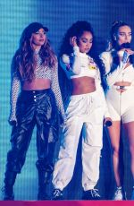 Little Mix Performs on stage during day 3 of Fusion Festival 2019 in Liverpool