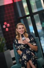 Lucy Fry At AOL Build for Godfather of Harlem in NY