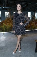 Lucy Hale At Jason Wu Fashion Show in NYC