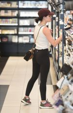 Lucy Hale Gets gas and shopping in LA