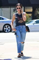 Lucy Hale Leaving a clinic in LA