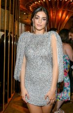 Luna Blaise At E! Entertainment, ELLE and IMG kick-off party, New York Fashion Week, USA