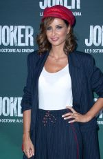 Malika Menard At Joker Premiere in Paris