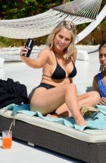 Malin Andersson and Keira Maguire on holiday retreat in Ibiza