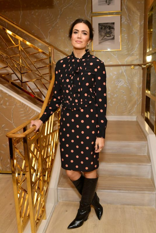 Mandy Moore At Glamour x Tory Burch Women To Watch Lunch in Beverly Hills