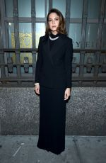 Mandy Moore At Ralph Lauren Fashion Show in NYC