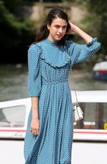 Margaret Qualley Arriving at the 76th Venice Film Festival in Venice Italy