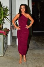 Marisol Nichols Poses for the cameras while out for dinner at Mastro