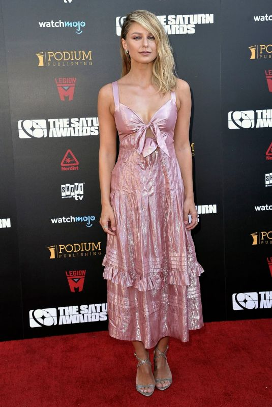Melissa Benoist At 45th Annual Saturn Awards in Los Angeles