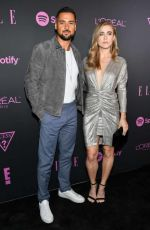 Melissa Roxburgh At E! Entertainment Host ELLE, Women In Music Presented By Spotify in New York