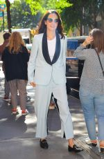 Michelle Dockery Was spotted leaving the View in NYC