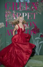 Michelle Hunziker At Green Carpet Fashion Awards Milan