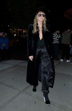 Miley Cyrus At Tom Ford Fashion Show during NYFW in New York