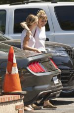 Miley Cyrus & Kaitlynn Carter Seen getting lunch in Los Angeles