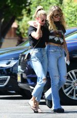 Miley Cyrus Out in LA