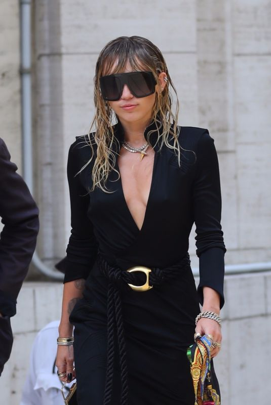 Miley Cyrus Out in New York City