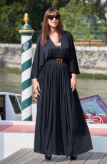 Monica Bellucci Arriving at the Lido in Venice