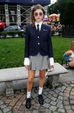 Natalia Dyer At Thom Browne
