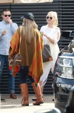Nicollette Sheridan Lunches with friends at Nobu in Malibu