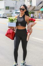 Nikki Bella Out running errands in Los Angeles