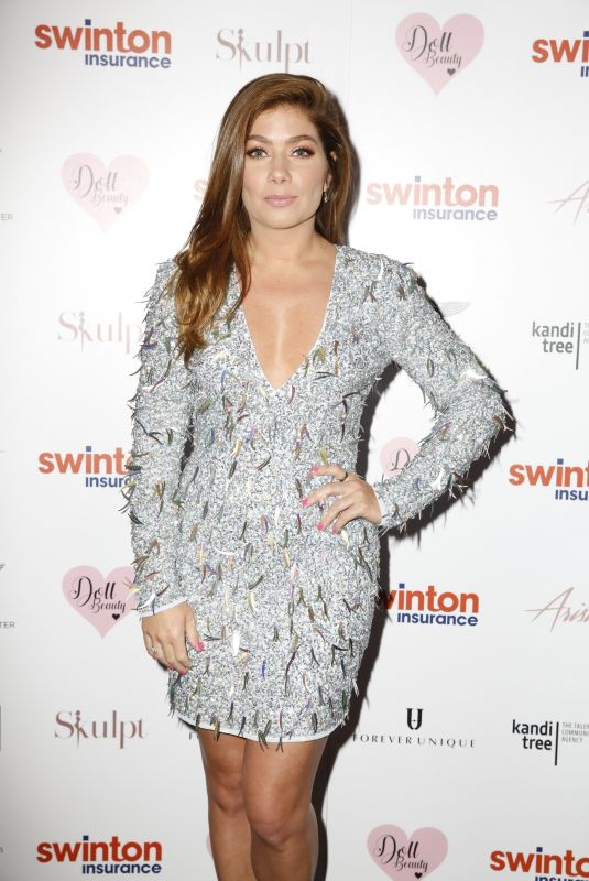 Nikki Sanderson At The Creme Charity Ball in Cheshire