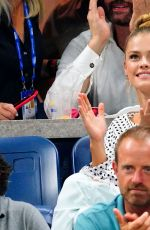 Nina Agdal At the US Open in New York