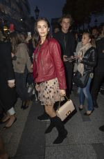 Nina Dobrev At Dior shop opening in Paris