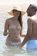 Nina Zilli On the beach in Cannes