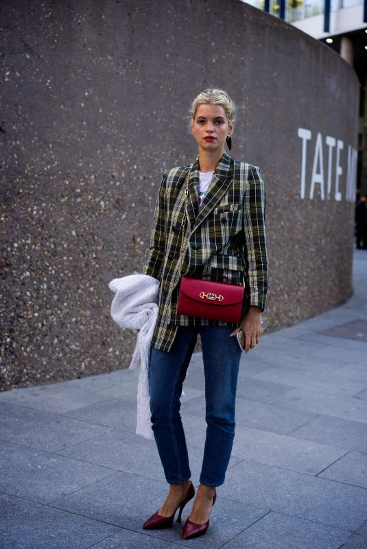 Pixie Geldof Out and about, London Fashion Week, UK