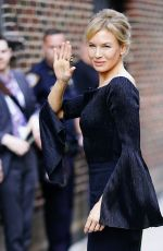 Renee Zellweger At Stephen Colbert show in New York City